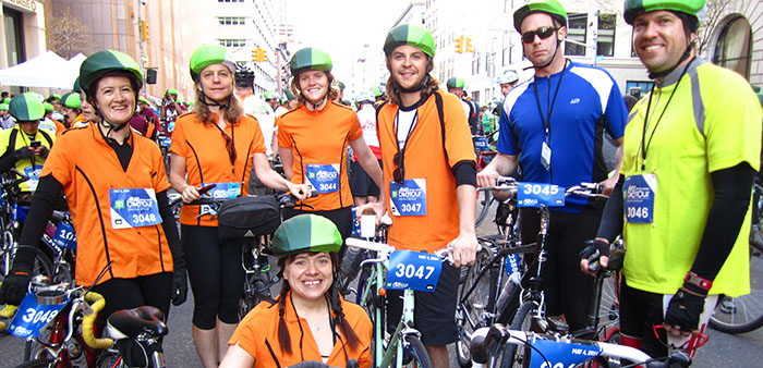 5 boro bike tour 2014