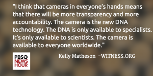PBS NewsHour Quote from Kelly Matheson