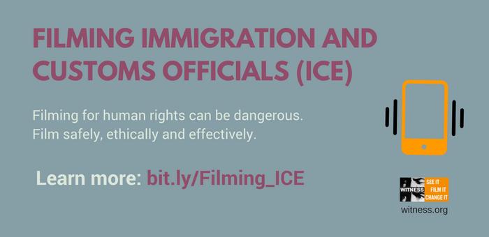 WITNESS | Filming ICE - WITNESS